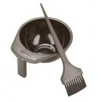 Миска (черная, бронзовая) для смешивания красок KAPOUS