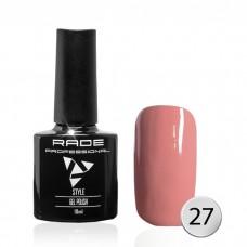 № 027 Цветной Гель-лак Rade Style 10 мл.
