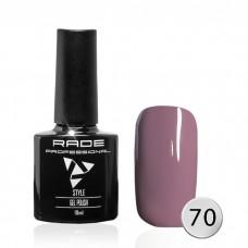 № 070 Цветной Гель-лак Rade Style 10 мл.